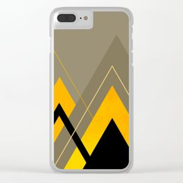 Geometric Composition 31 Clear iPhone Case
