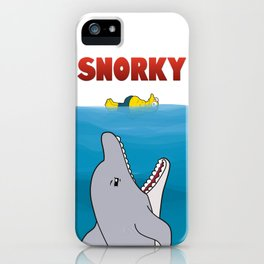 Snorky Jaws. iPhone Case