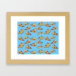 PIZZA HOT Framed Art Print