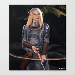 Elf Archer Canvas Print