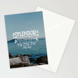 Splendor & Majesty Stationery Cards