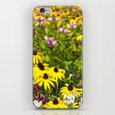 70s Summer ~ flowers iPhone & iPod Skin