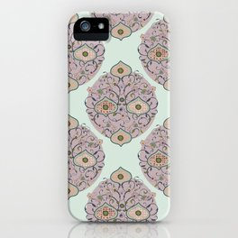 Victorian floral iPhone Case