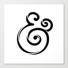 InclusiveKind Ampersand Canvas Print