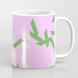 random trapezoids pattern_lavender Coffee Mug