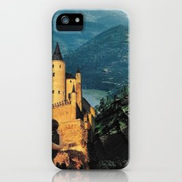Affair Behind the Castle iPhone Case