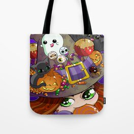 Candy Witch Tote Bag