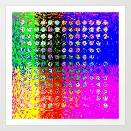 Colordots Art Print