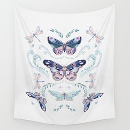 Butterflies painting Wall Tapestry