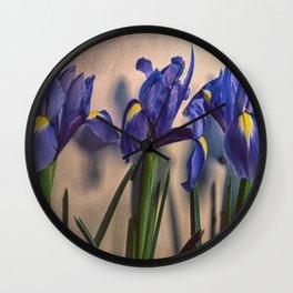 Vintage Irisis Wall Clock