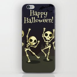 Dancing Halloween iPhone Skin