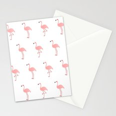 Pink Flamingos Stationery Cards