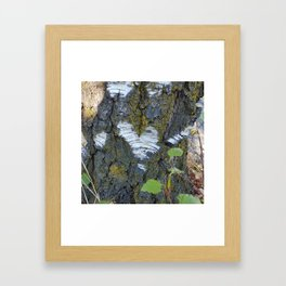 One Love Tree Framed Art Print