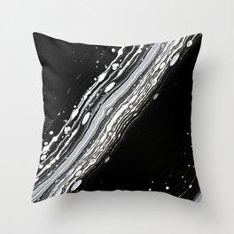 White Stripe Throw Pillow