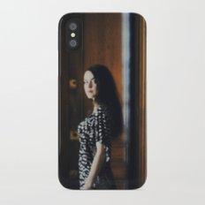 In passing Slim Case iPhone X