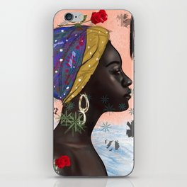 Peace in storm iPhone Skin