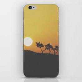 Sunrise Silohuette iPhone Skin