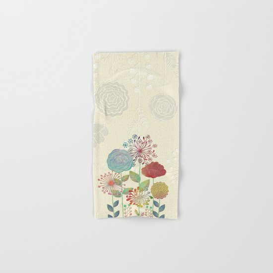 Flower Tales Hand & Bath Towel