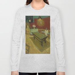 """Vincent van Gogh """"Le café de nuit (The Night Café)"""" Long Sleeve T-shirt"""