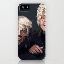 Gil Faizon and George St. Geegland iPhone Case