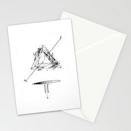 Crystal Pyramid Stationery Cards