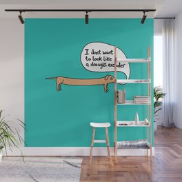 Sausage the Dog: Draught Excluder Wall Mural
