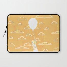 Cloudy Balloon Laptop Sleeve