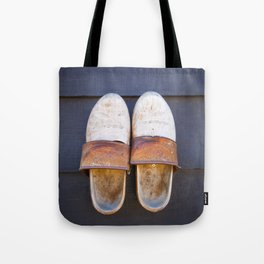 Typical dutch clogs Tote Bag
