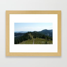 Mount Thompson Framed Art Print