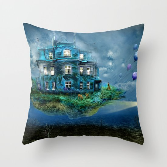A journey with the wind Throw Pillow