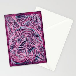 Curly lines II Stationery Cards