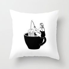 Laid-Back Time Throw Pillow