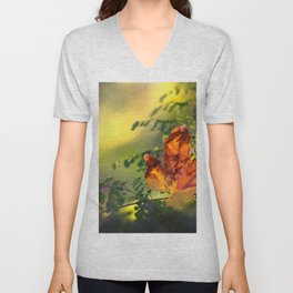 Graceful Unisex V-Neck