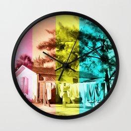 Sarasota Series Wash Day Wall Clock