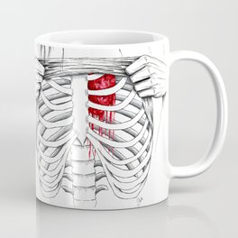 just because you don't see it doesn't mean I don't feel it. Coffee Mug