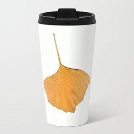 Wild gold ginkgo Travel Mug