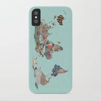 louis armstrong iPhone & iPod Cases featuring Louis Armstrong Told Us So (teal) by Bianca Green