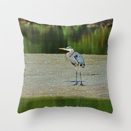 Counting the Steps Between Us Throw Pillow