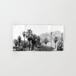 Palm Canyon near Palm Springs c.1901 Hand & Bath Towel