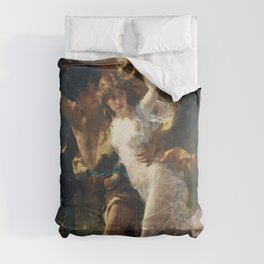 The Storm by Pierre-Auguste Cot 1880, French Comforters