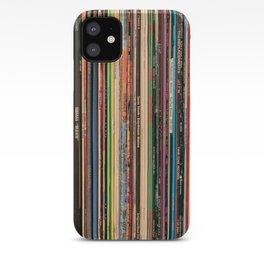 Alternative Rock Vinyl Records iPhone Case