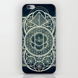 Ultra Sacred Geometry Dark iPhone Skin