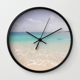Island Paradise Wall Clock