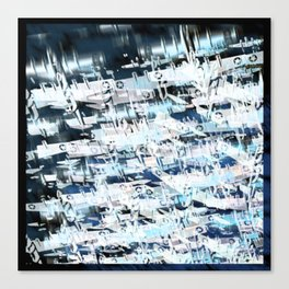 Flight Abstract Square Canvas Print
