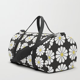 Daisy pattern Duffle Bag