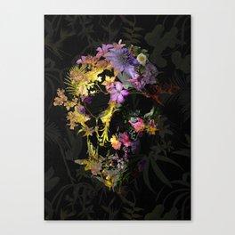 Spring Skull Canvas Print