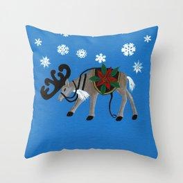 Ready for Santa's Sleigh Throw Pillow