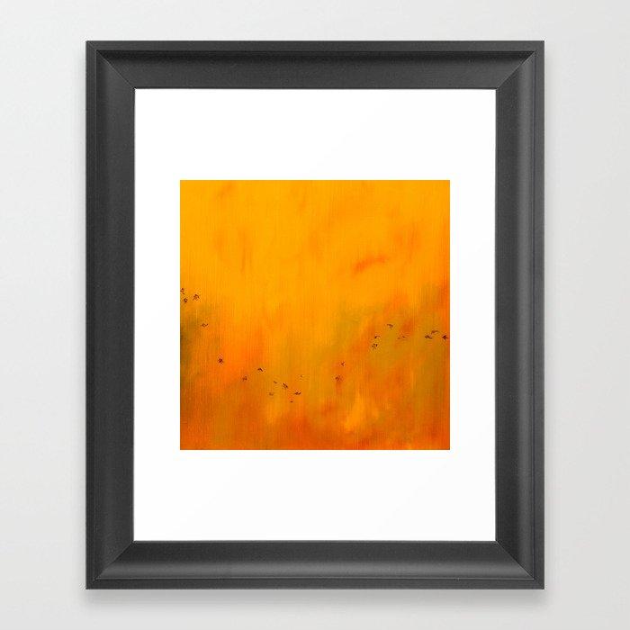 Autumn Tower. Chapter 2. Framed Art Print