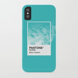 PANTONE SERIES – SPLASH iPhone Case