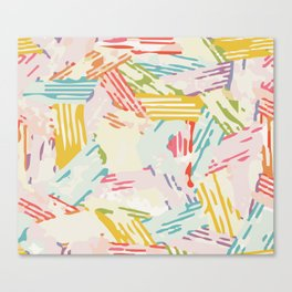 Color Stack Canvas Print